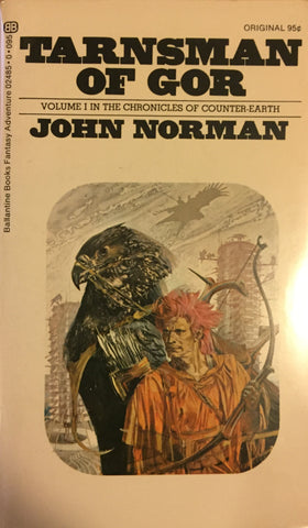 Tarnsman of Gor by John Norman -- Paperback
