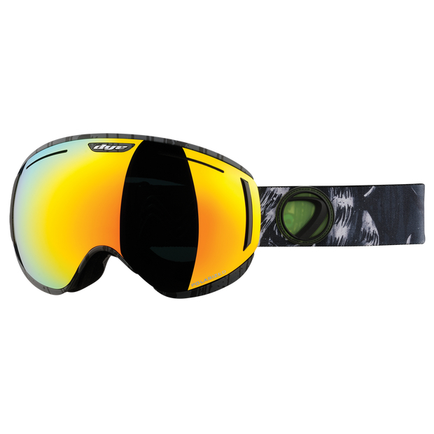 DYE Snow CLK Goggle, lime/white/black Polarized