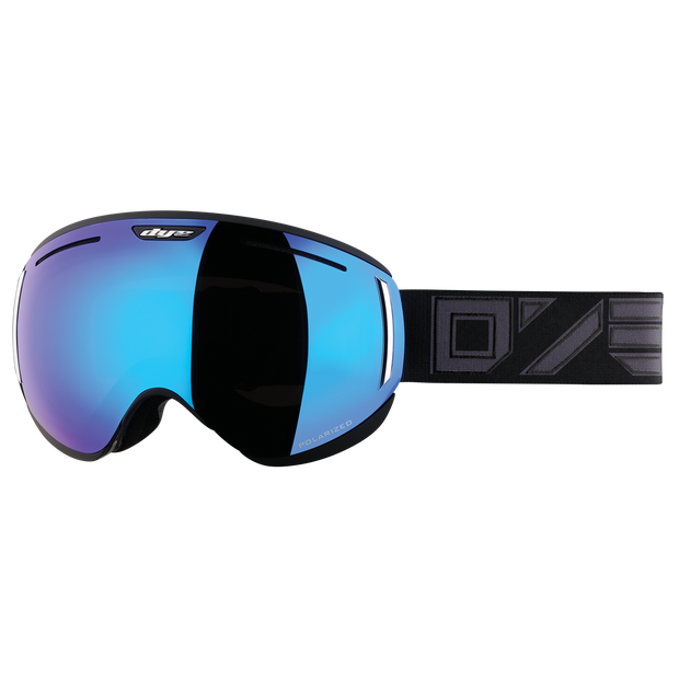 DYE Snow CLK Goggle, Black Polarized
