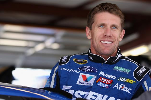 CARL EDWARDS RIDES POLE POSITION TO CHECKERED FLAG IN BRISTOL
