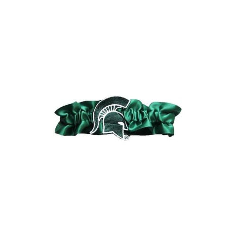 Michigan State Spartans NCAA Satin Garter (Green)