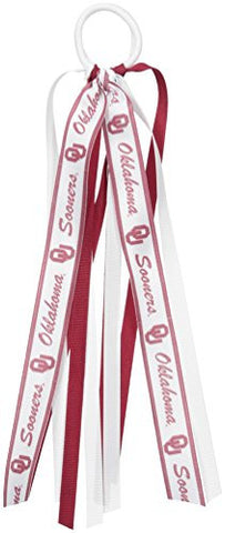 NCAA Oklahoma Sooners Fan Tails, One Size, Maroon