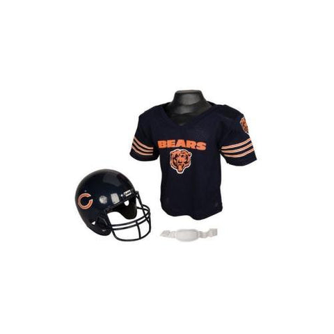 Chicago Bears Youth NFL Helmet and Jersey Set
