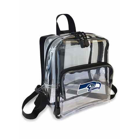 "Portland Trail Blazers NBA ""X-Ray"" Stadium Friendly Clear Mini-Backpack"