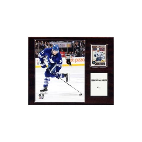 NHL 12in x15in  James Van Riemsdyk Toronto Maple Leafs Player Plaque