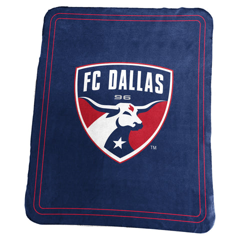 FC Dallas MLS Classic Fleece Throw