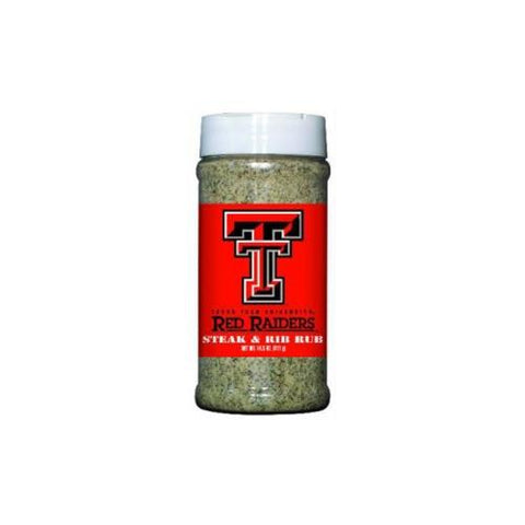 Texas Tech Red Raiders NCAA Steak and Rib Rub (14.5 oz)