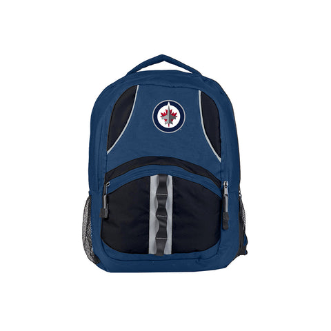 Winnipeg Jets NHL Captain Backpack (Navy/Black) (2-Pack)