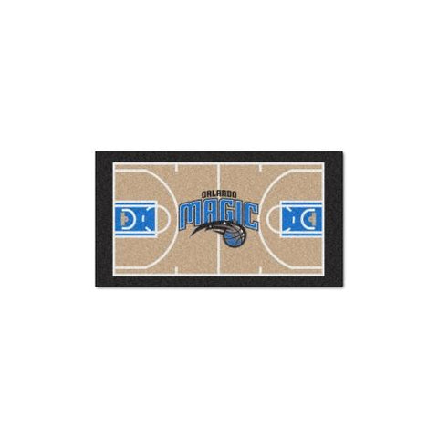 Orlando Magic NBA 2x4 Court Runner (24x44)