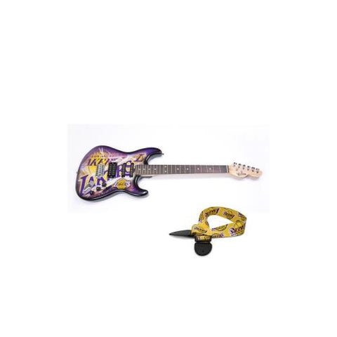 "Los Angeles Lakers NBA ""Northender"" Electric Guitar with Strap"
