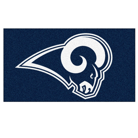 "Los Angeles Rams NFL Rookie Bathroom Rug (19""x30"")"