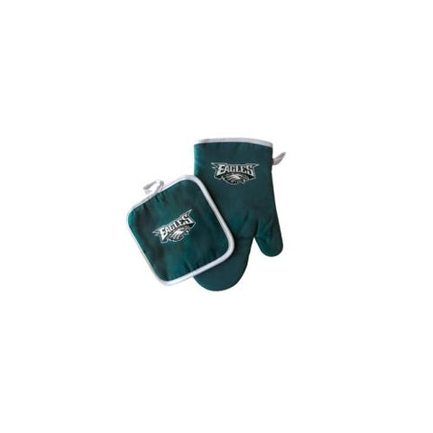 Philadelphia Eagles NFL Oven Mitt and Pot Holder Set