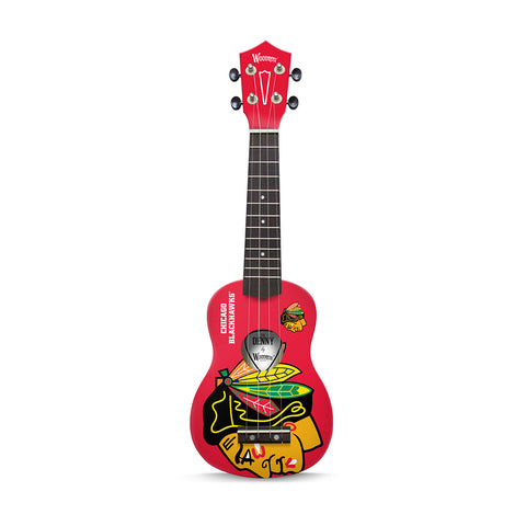 "Chicago Blackhawks  NHL ""The Denny"" Ukulele"