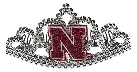 NCAA Nebraska Cornhuskers Girls Tiara3-Netiara3-Ne, Red, One Size