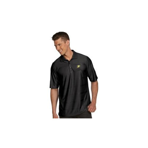 "Anaheim Ducks NHL ""Illusion"" Men's Polo Shirt (Black) (Small)"