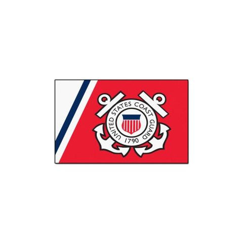 "US Coast Guard Armed Forces 5x8 Rug (60""x92"")"