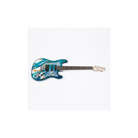 "Miami Dolphins NFL ""NorthEnder"" Electric Guitar"