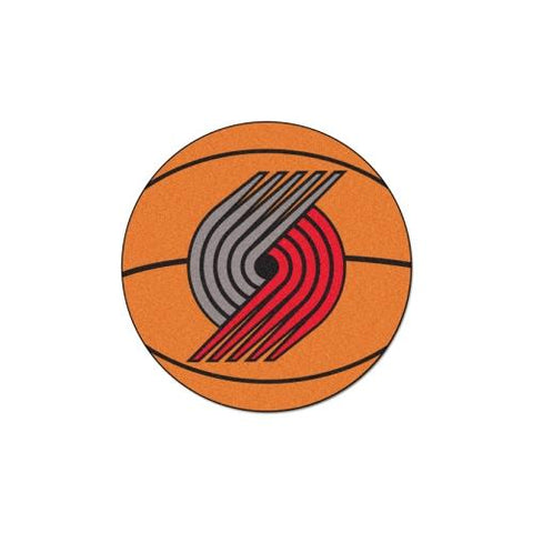 "Portland Trail Blazers NBA Basketball Mat (29"" diameter)"