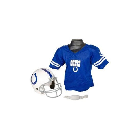 Indianapolis Colts Youth NFL Helmet and Jersey Set