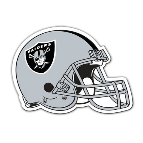 Fremont Die Consumer Products F98804 8 in. Magnet Helmet - Oakland Raiders