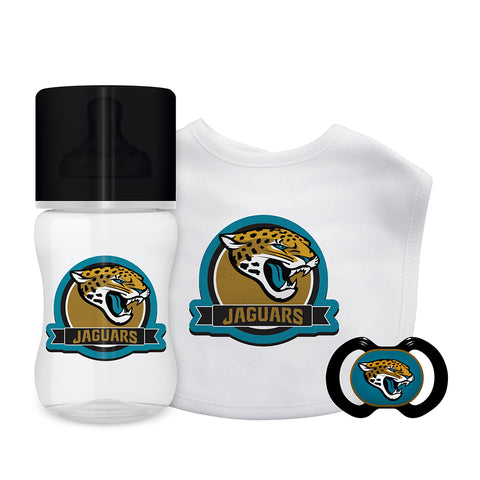 Jacksonville Jaguars NFL 3 Piece Infant Gift Set