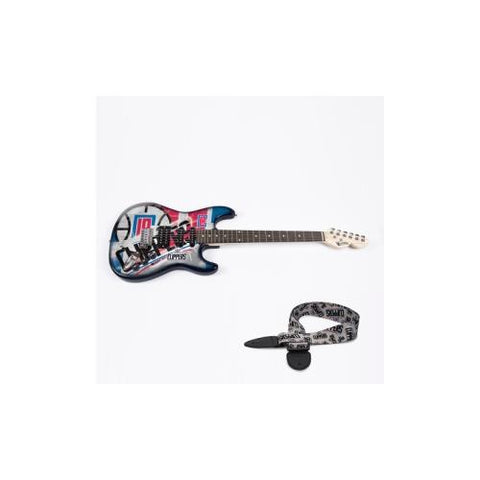 "Los Angeles Clippers NBA ""Northender"" Electric Guitar with Strap"