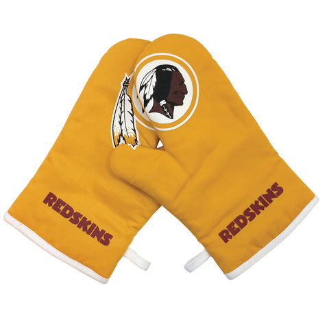 Washington Redskins NFL Cross Over 2pc Oven Mitt Set