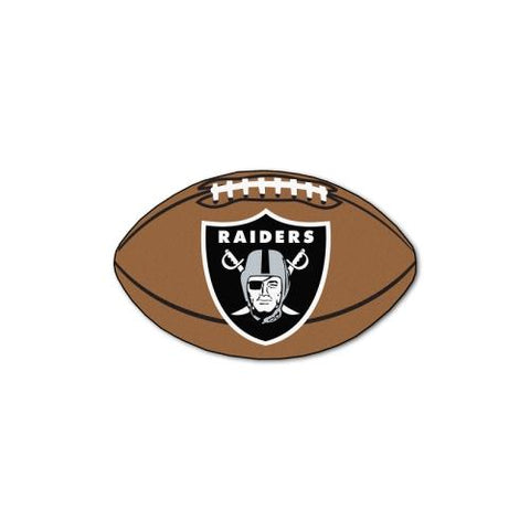"Oakland Raiders NFL ""Football"" Floor Mat (22""x35"")"