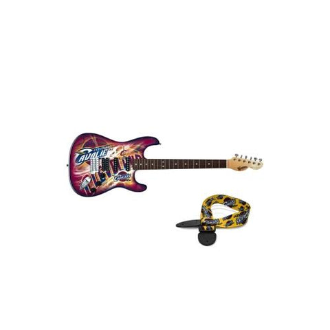 "Cleveland Cavaliers NBA ""Northender"" Electric Guitar with Strap"