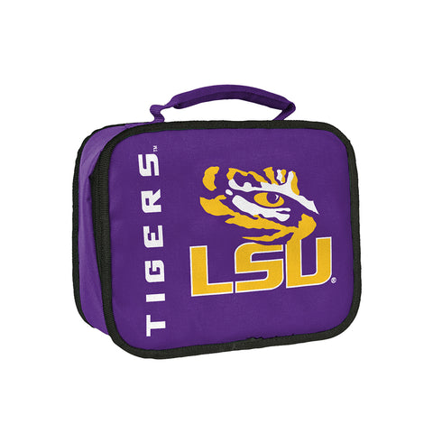"LSU Tigers NCAA ""Sacked"" Lunch Cooler (Purple)"