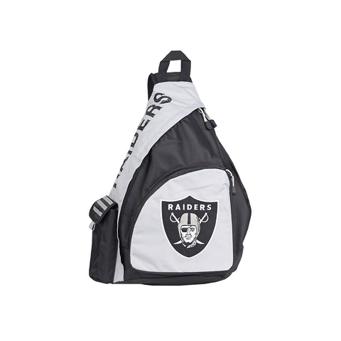 "Oakland Raiders NFL ""Leadoff"" Sling (Black/Black)"
