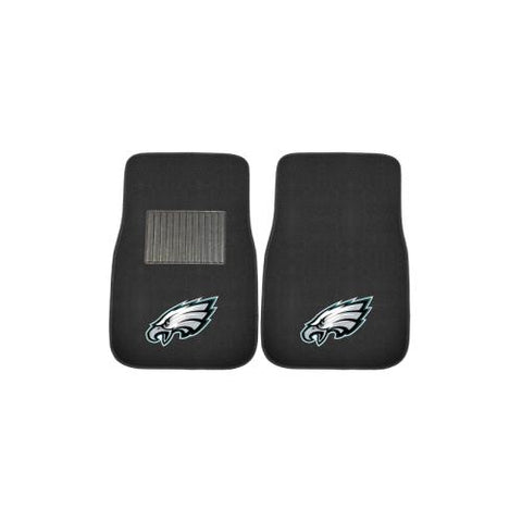 Philadelphia Eagles NFL 2-pc Embroidered Car Mat Set