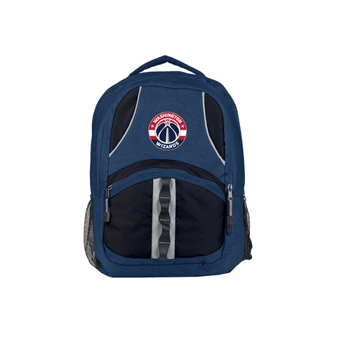 Washington Wizards NBA Captain Backpack (Navy/Black) (2-Pack)