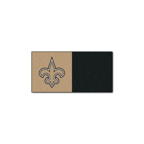 New Orleans Saints NFL Team Logo Carpet Tiles