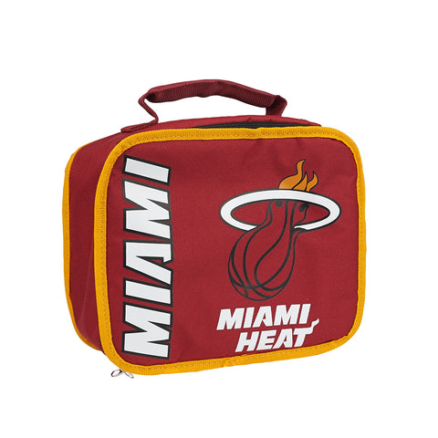 "Miami Heat NBA ""Sacked"" Lunch Cooler (Red)"