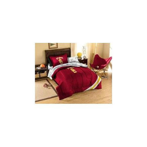 NCAA USC Trojans Bedding Set, Twin