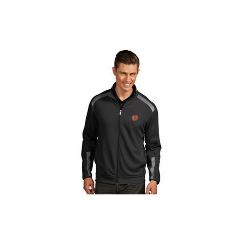 "Calgary Flames NHL ""Flight"" Men's Jacket (Smoke/Steel) (X-Large)"