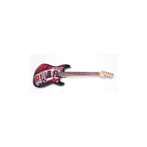 "Chicago Bulls NBA ""NorthEnder"" Electric Guitar"