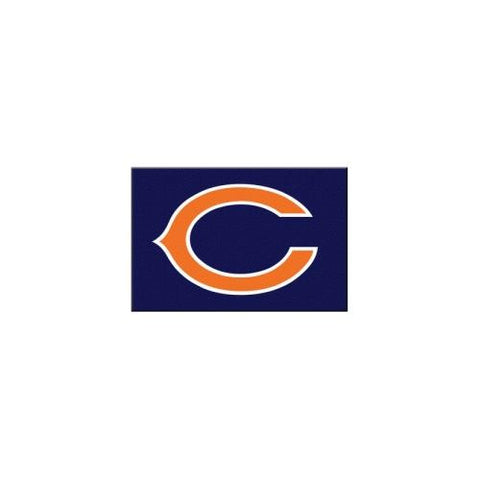 "Chicago Bears NFL Rookie Bathroom Rug (19""x30"")"