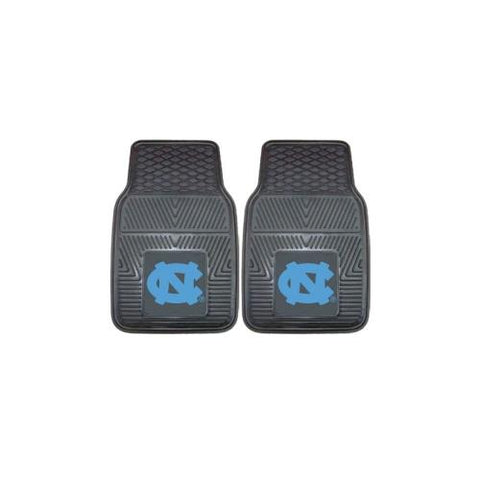 "North Carolina Tar Heels NCAA Heavy Duty 2-Piece Vinyl Car Mats (18""x27"")"