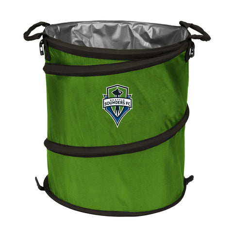 Seattle Sounders FC MLS Collapsible Trash Can
