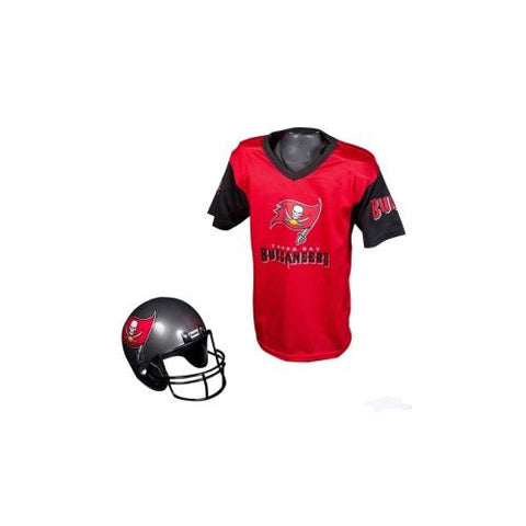 Tampa Bay Buccaneers Youth NFL Helmet and Jersey Set