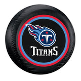 Tennessee Titans NFL Spare Tire Cover (Standard) (Black)