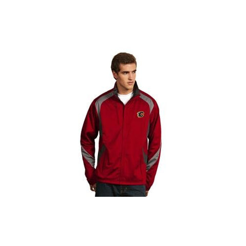 "Calgary Flames NHL ""Tempest"" Men's Jacket (Dark Red)(Small)"