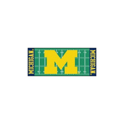 "Michigan Wolverines NCAA Floor Runner (29.5""x72"")"