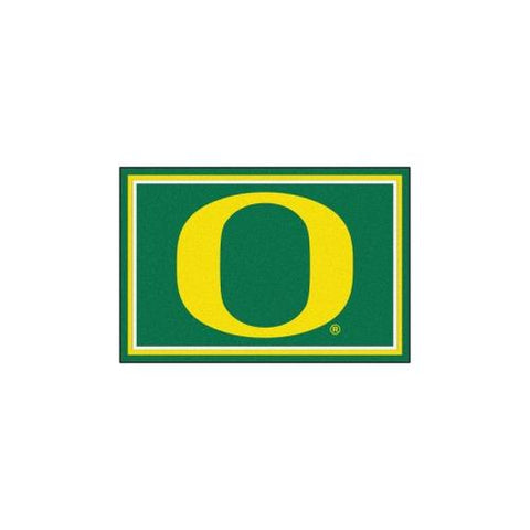 Oregon Ducks NCAA Floor Rug (5x8')