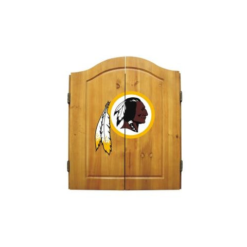 Washington Redskins NFL Dart Board w/Cabinet