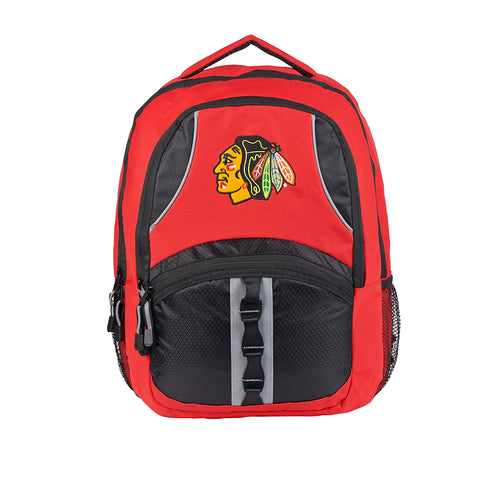 Chicago Blackhawks NHL Captain Backpack (Red/Black) (2-Pack)