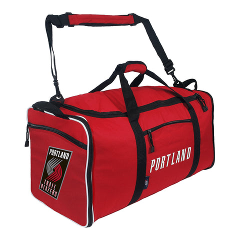 "Portland Trail Blazers NBA ""Steal"" Duffel (Red)"