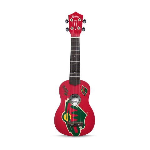 "Minnesota Wild  NHL ""The Denny"" Ukulele"